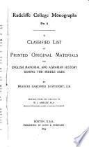 Radcliffe College Monographs Pdf/ePub eBook