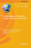 Collaborative Networks in the Internet of Services Pdf/ePub eBook