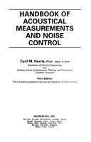 Handbook of Acoustical Measurements and Noise Control
