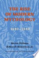 The Rise of Modern Mythology, 1680-1860
