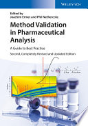 Method Validation In Pharmaceutical Analysis Book PDF