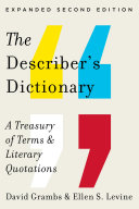 The Describer's Dictionary: A Treasury of Terms & Literary Quotations (Expanded Second Edition) Pdf/ePub eBook