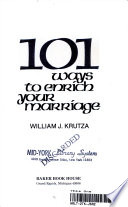 101 Ways to Enrich Your Marriage