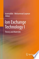 Ion Exchange Technology I Book