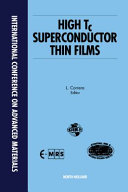 High Tc Superconductor Thin Films