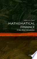 Mathematical Finance  A Very Short Introduction Book PDF