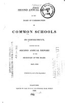 Annual Report of the Board of Commissioners of Common Schools