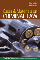 Cases   Materials on Criminal Law