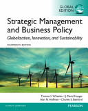 Strategic Management and Business Policy  Globalization  Innovation and Sustainability