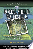 Boreal Shield Watersheds Book
