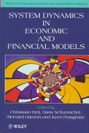 System Dynamics in Economic and Financial Models