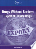 Drugs Without Borders  Export of Finished Drugs Book