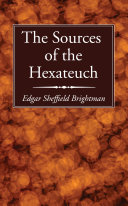 The Sources of the Hexateuch Pdf/ePub eBook