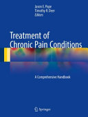 Treatment of Chronic Pain Conditions