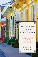 Pdf Coming Home to New Orleans Telecharger