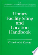 Library Facility Siting and Location Handbook