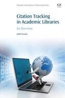 Citation Tracking in Academic Libraries [Pdf/ePub] eBook