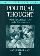A History of Political Thought Book