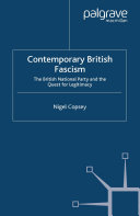 Pdf Contemporary British Fascism