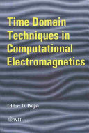Time Domain Techniques In Computational Electromagnetics Book PDF
