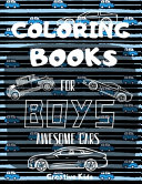 Coloring Books For Boys Awesome Cars