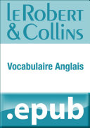 Le Robert et Collins Vocabulaire anglais