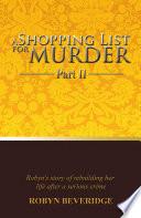 A Shopping List for Murder - Part II Pdf/ePub eBook