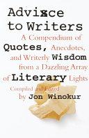 Advice to Writers [Pdf/ePub] eBook
