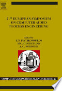 21st European Symposium On Computer Aided Process Engineering Book PDF