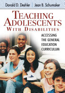 Teaching Adolescents With Disabilities