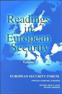 Readings in European Security