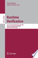Runtime Verification