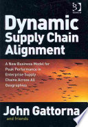 Cover of Dynamic Supply Chain Alignment