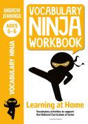 Vocabulary Ninja Workbook for Ages 5 6