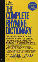 Pdf The Complete Rhyming Dictionary
