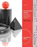 Psychological Assessment and Theory Book PDF