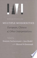Reflections On Multiple Modernities