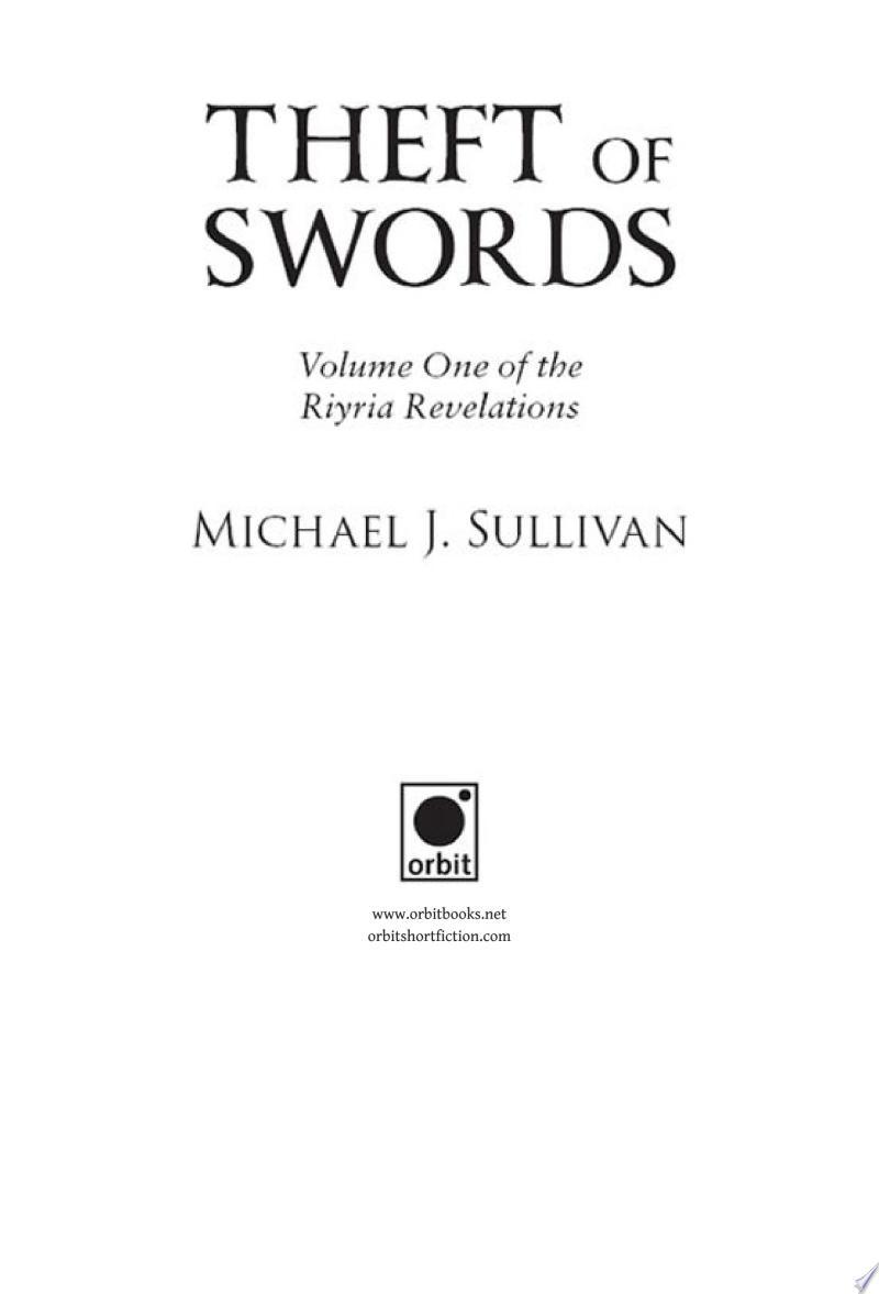 Theft of Swords image