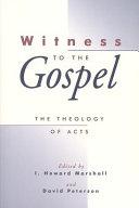 Witness to the Gospel