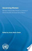 Governing Women
