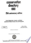 Conservation Directory 1980