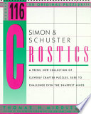 Simon and Schuster Crostics 116