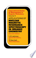 Applications of Nuclear Magnetic Resonance Spectroscopy in Organic Chemistry
