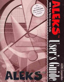 Aleks User s Guide with Two Term Access Code