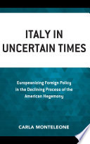 Italy in Uncertain Times