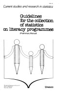 Guidelines for the Collection of Statistics on Literacy Programmes