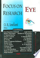 Focus on Eye Research Book