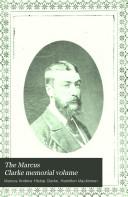 Pdf The Marcus Clarke Memorial Volume