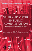 Value and Virtue in Public Administration