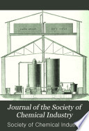 The Journal of the Society of Chemical Industry Book